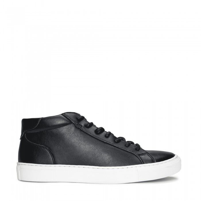 Matt Black Vegan Sneakers