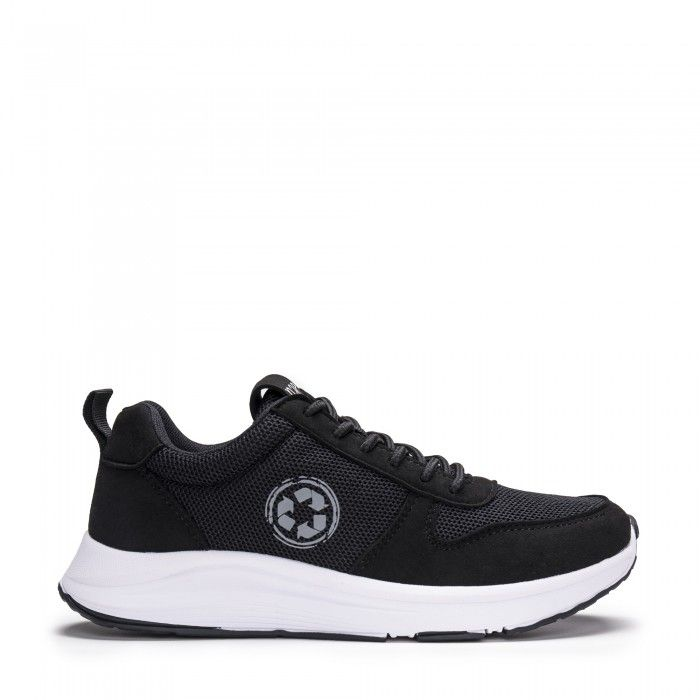 Jordan Black running vegan sneakers