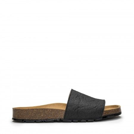 Bay Black vegan sandal