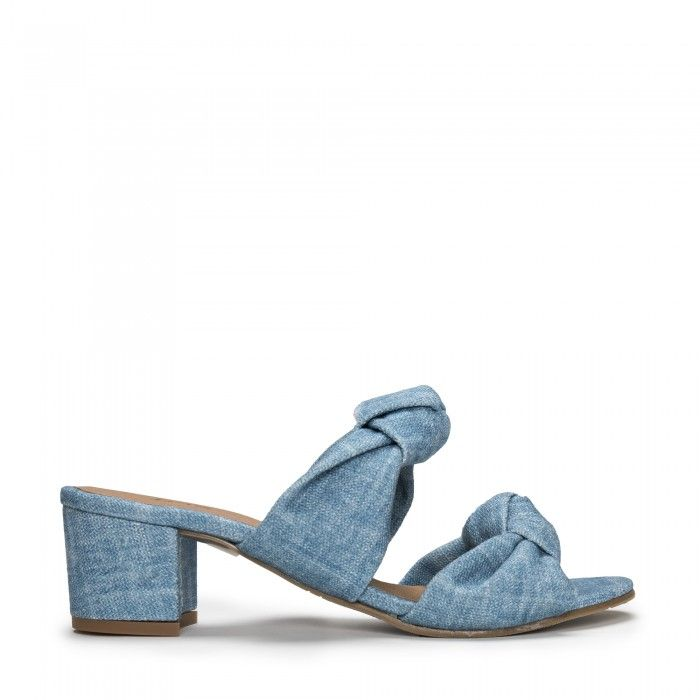 Jackie Blue vegan sandals