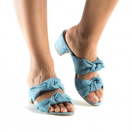 Jackie Blue sandálias vegan