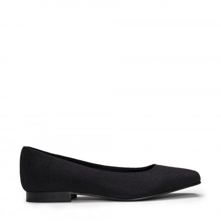 Louise Black ballerines veganes