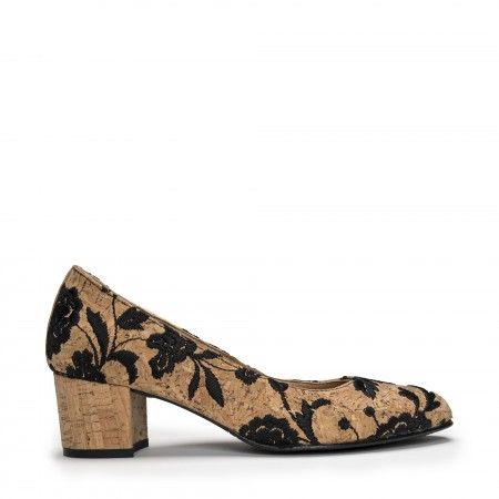 Lina Cork vegan shoes