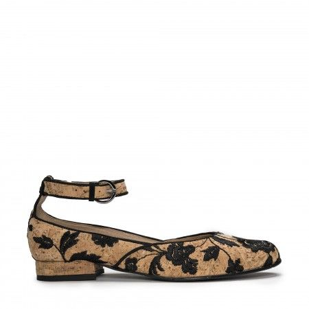 Leen Cork vegan shoes