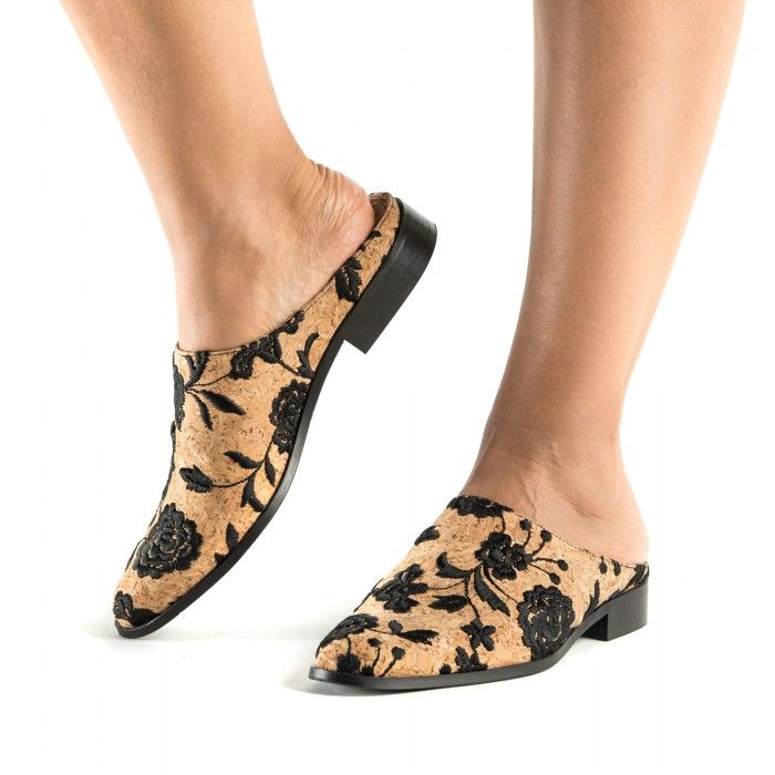 Zoe Cork vegan shoes