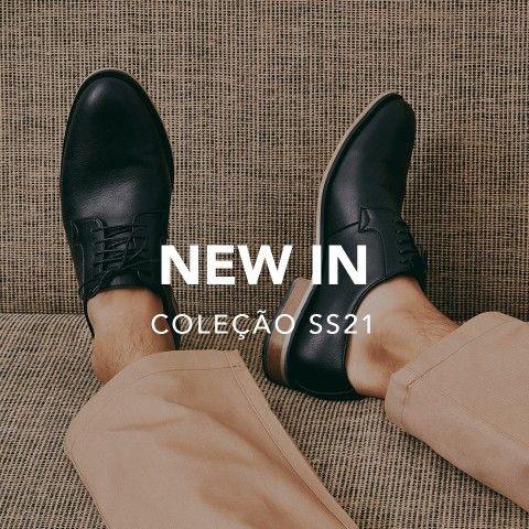 Sapatos vegan - Coleção homem primavera verão