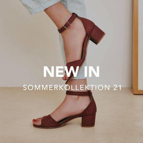 Vegane Schuhe - Frühling Sommer Frau Kollektion