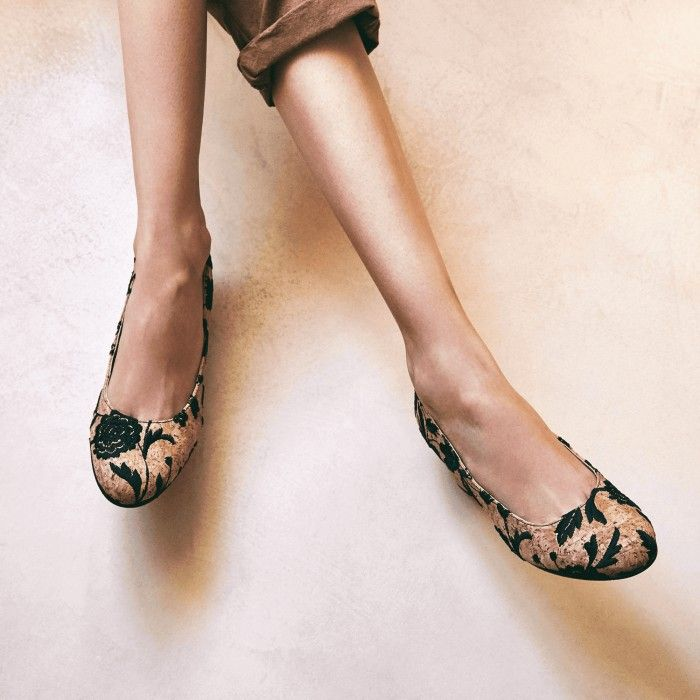 Lina Cork sapatos vegan