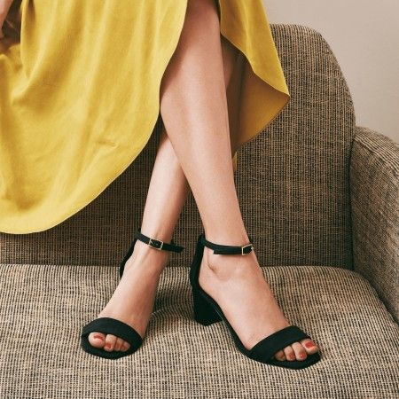 Margot Black vegane Sandalen