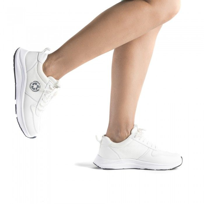 Jor White zapatillas veganas de running