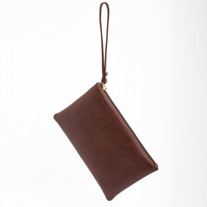 Lena Brown vegan wallet