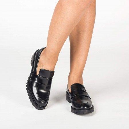 Elena Black chaussures véganes