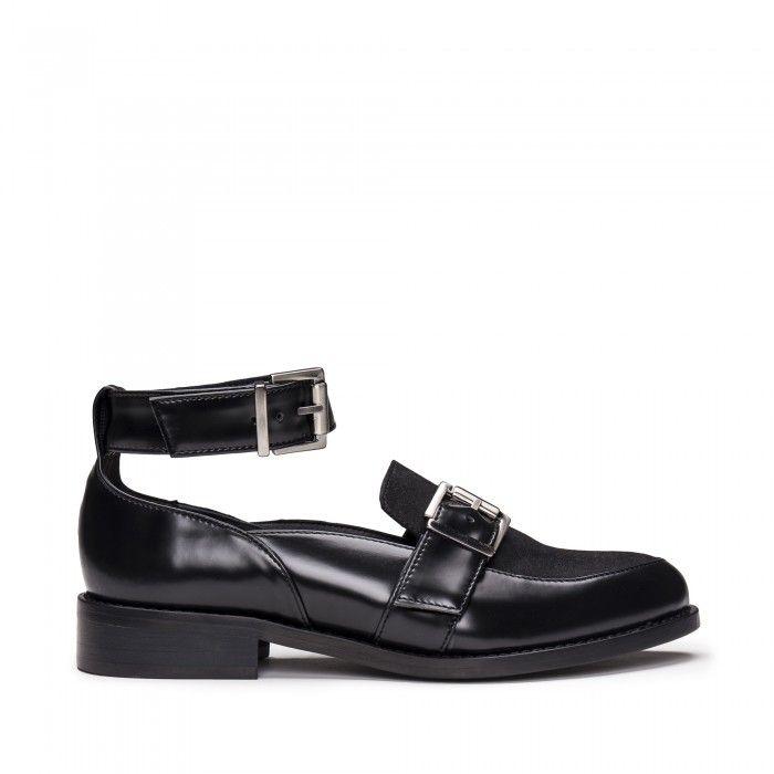 Luna Black Micro zapatos veganos