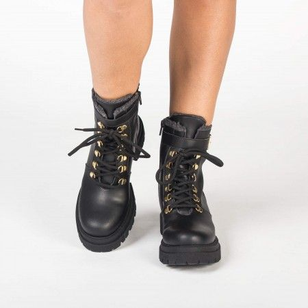 Nerea Black vegane Boots