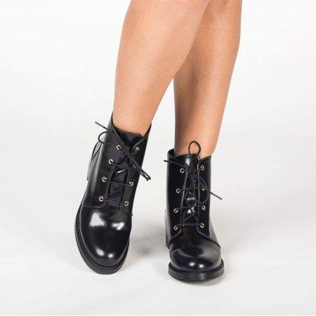 Melany Black bottes véganes