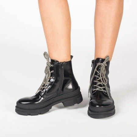 Verana Black bottes véganes