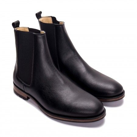Basti Black- vegane Boots
