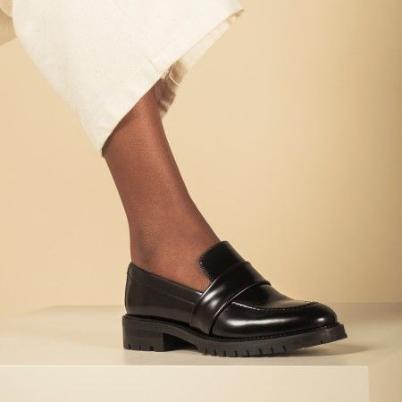 Elena Black vegane Schuhe