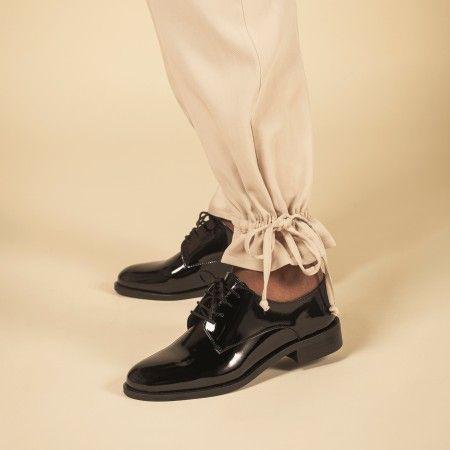 Olaya Black vegan shoes